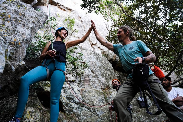 Climbing Stoke Is High At the Pre-Kloof Fest