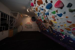 Climbing in a Boulder Comp in JHB at FA