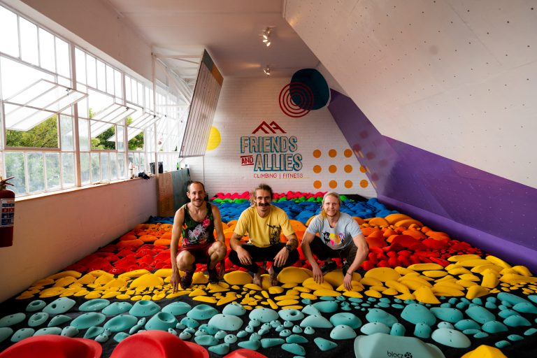 Indoor Climbing Holds for a Gym in JHB