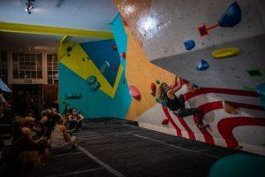 Female Final Climbers at the TIA Boulder Comp